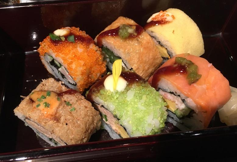 SHARI THE TOKYO SUSHI BAR (シャリ ザ トーキョー スシバー)  に行ってきた。